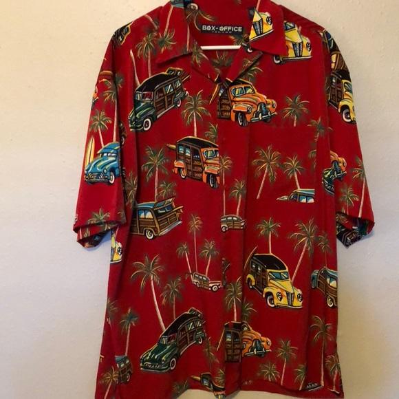 a1c1c715 box office island Shirts | Mens Hawaiian Shirt Large | Poshmark